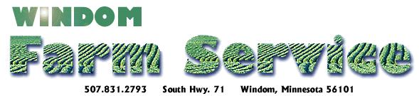 Windom Farm Service